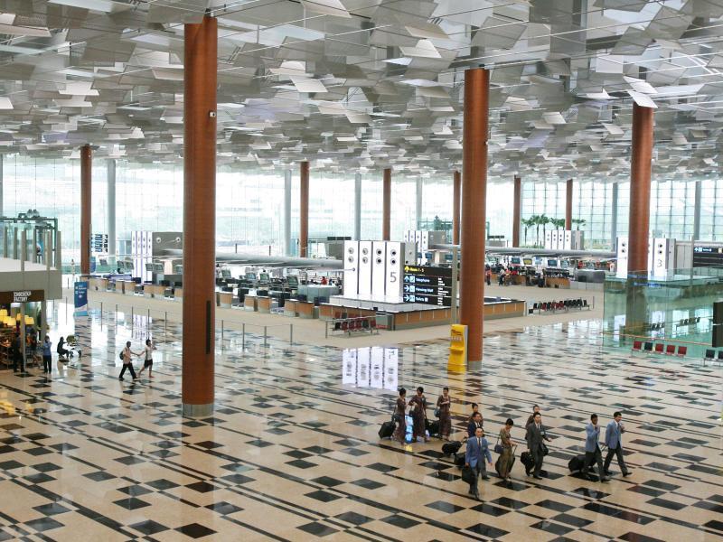 Bild zu Changi-Flughafen in Singapur