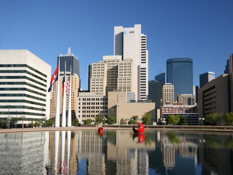 Bild zu Blick auf Dallas