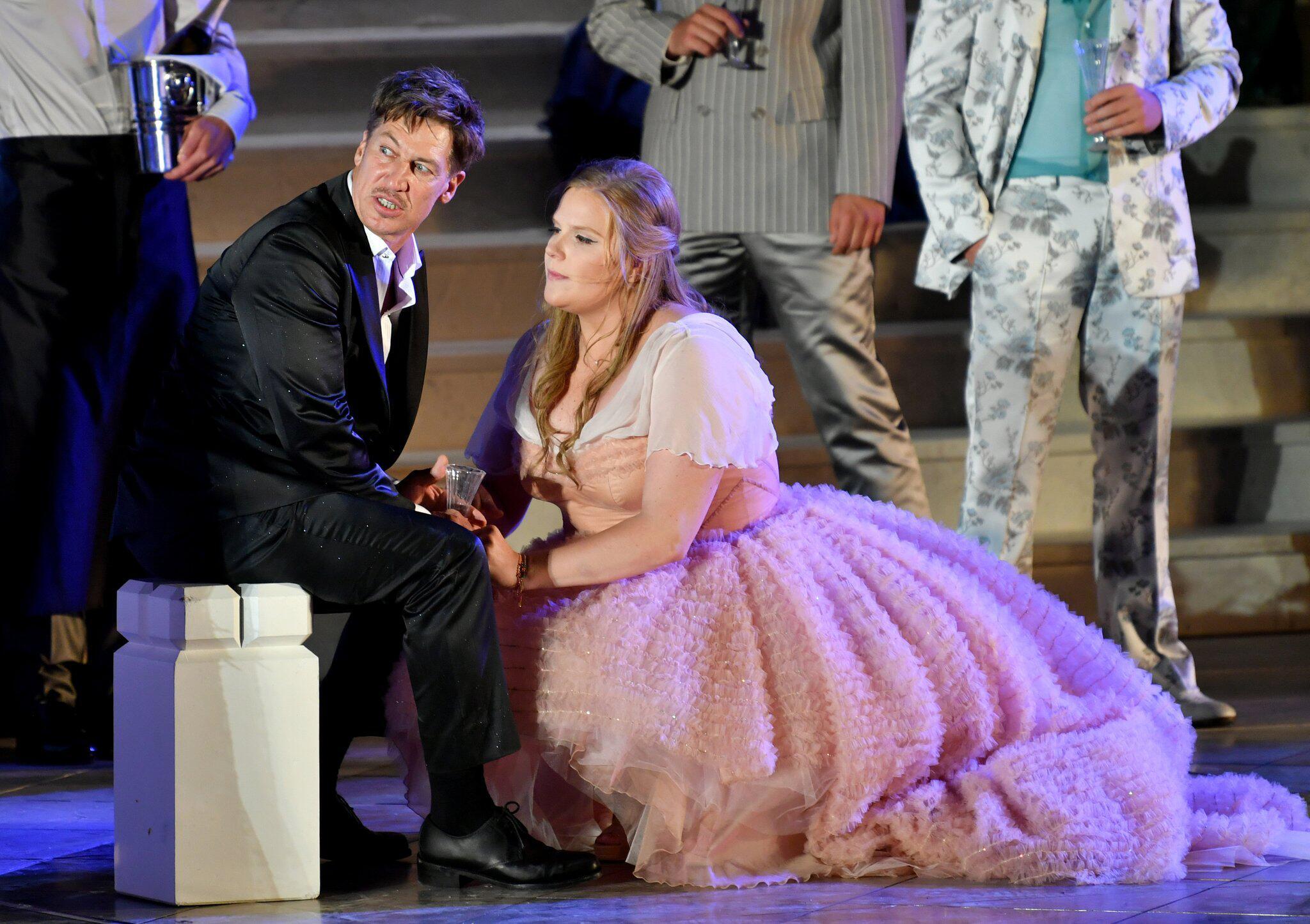 Bild zu Salzburger Festspiele 2017 - Jedermann - Fotoprobe