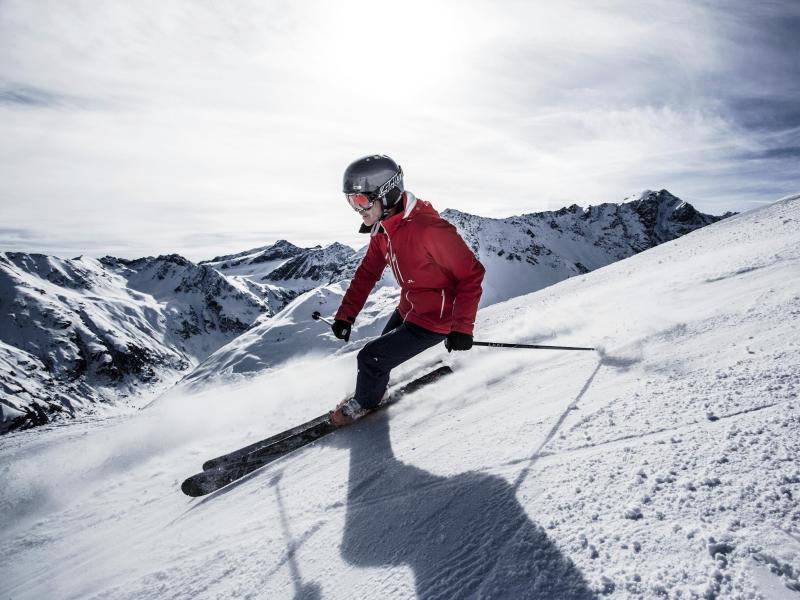 Bild zu Skifahren am Pitztaler Gletscher