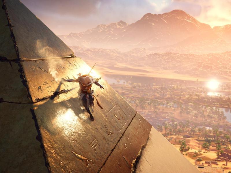 Bild zu Cheops-Pyramide mit Goldhaube