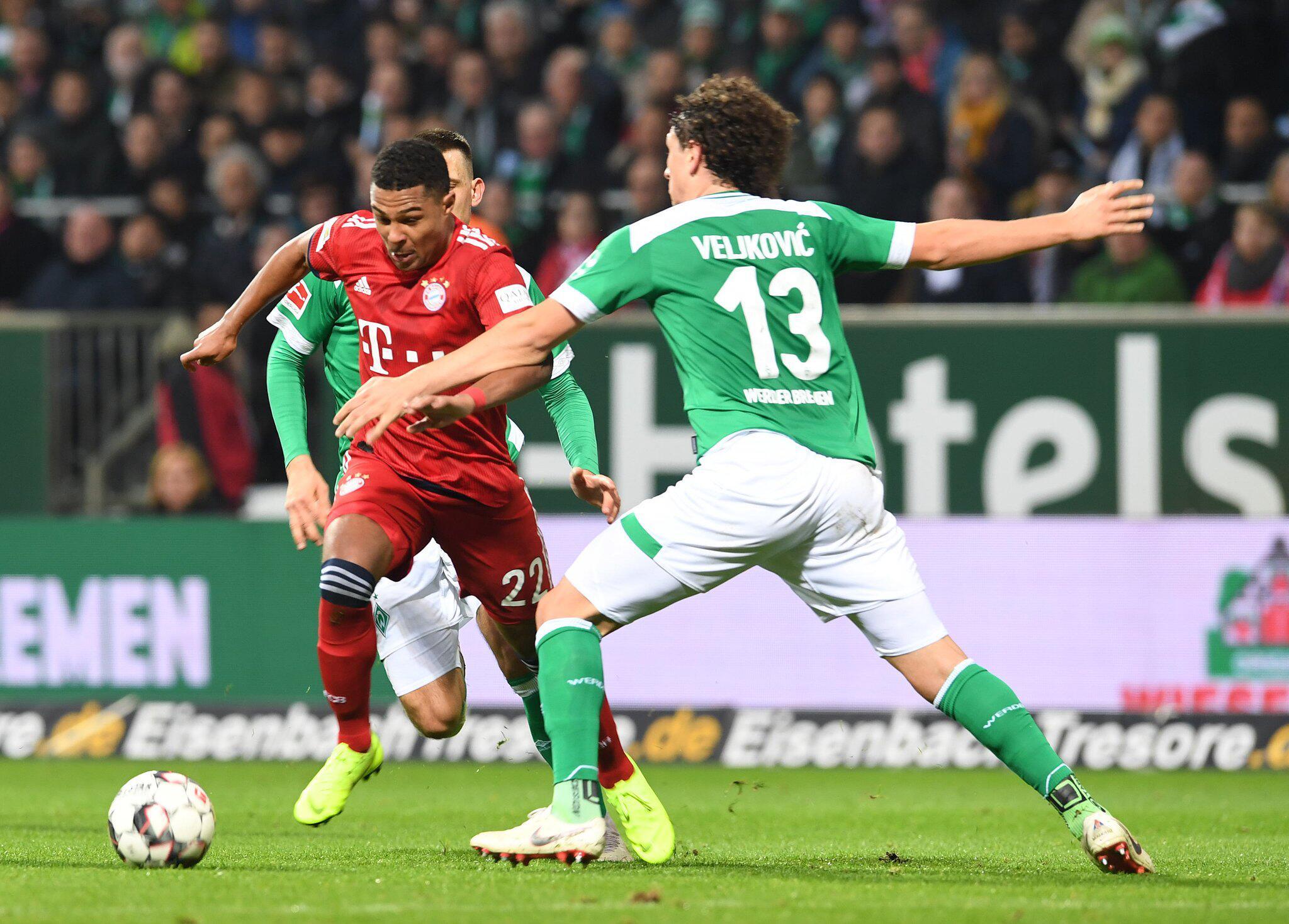 Bild zu SV Werder Bremen - FC Bayern München