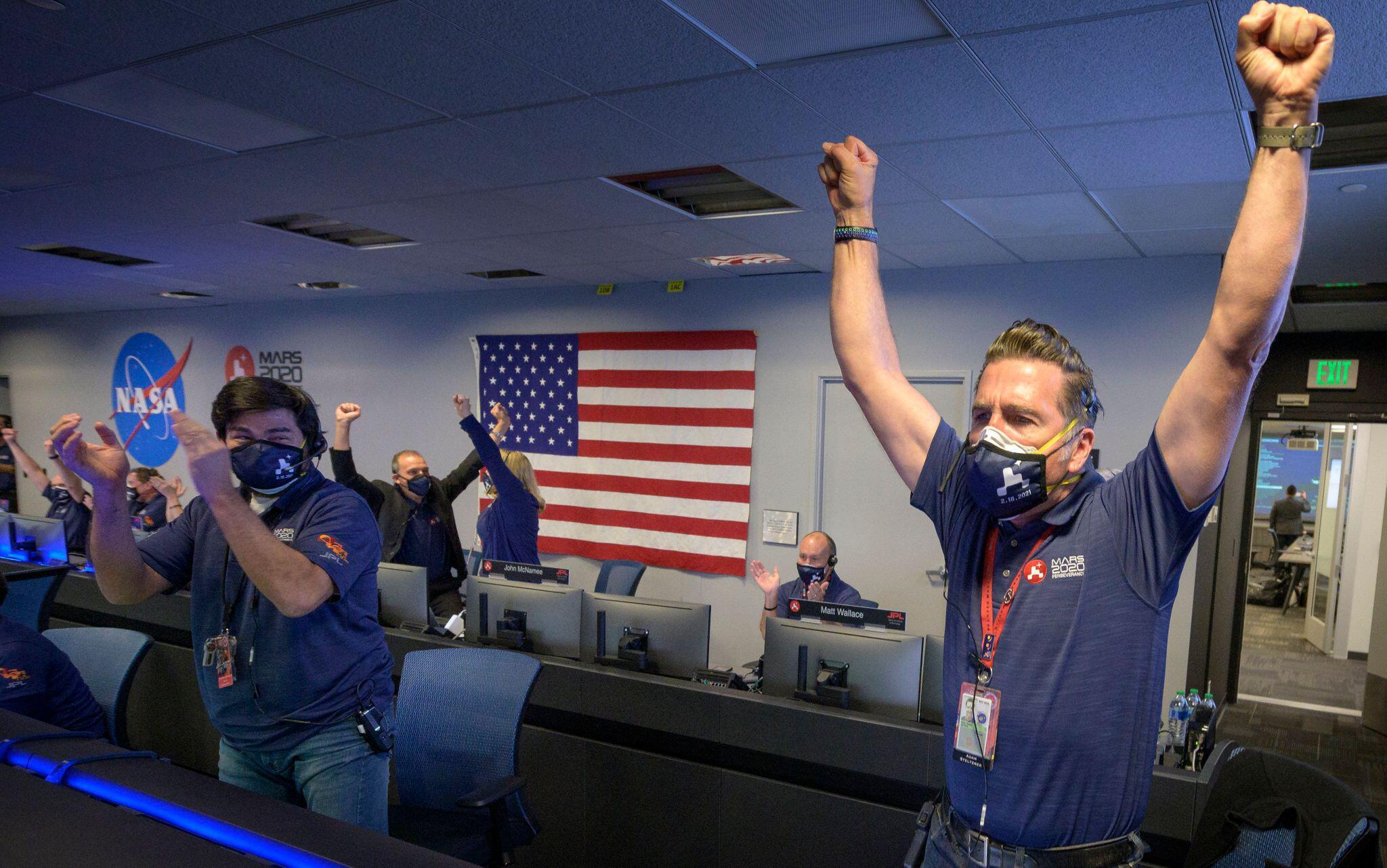 Bild zu Nasa-Rover «Perseverance» auf dem Mars gelandet