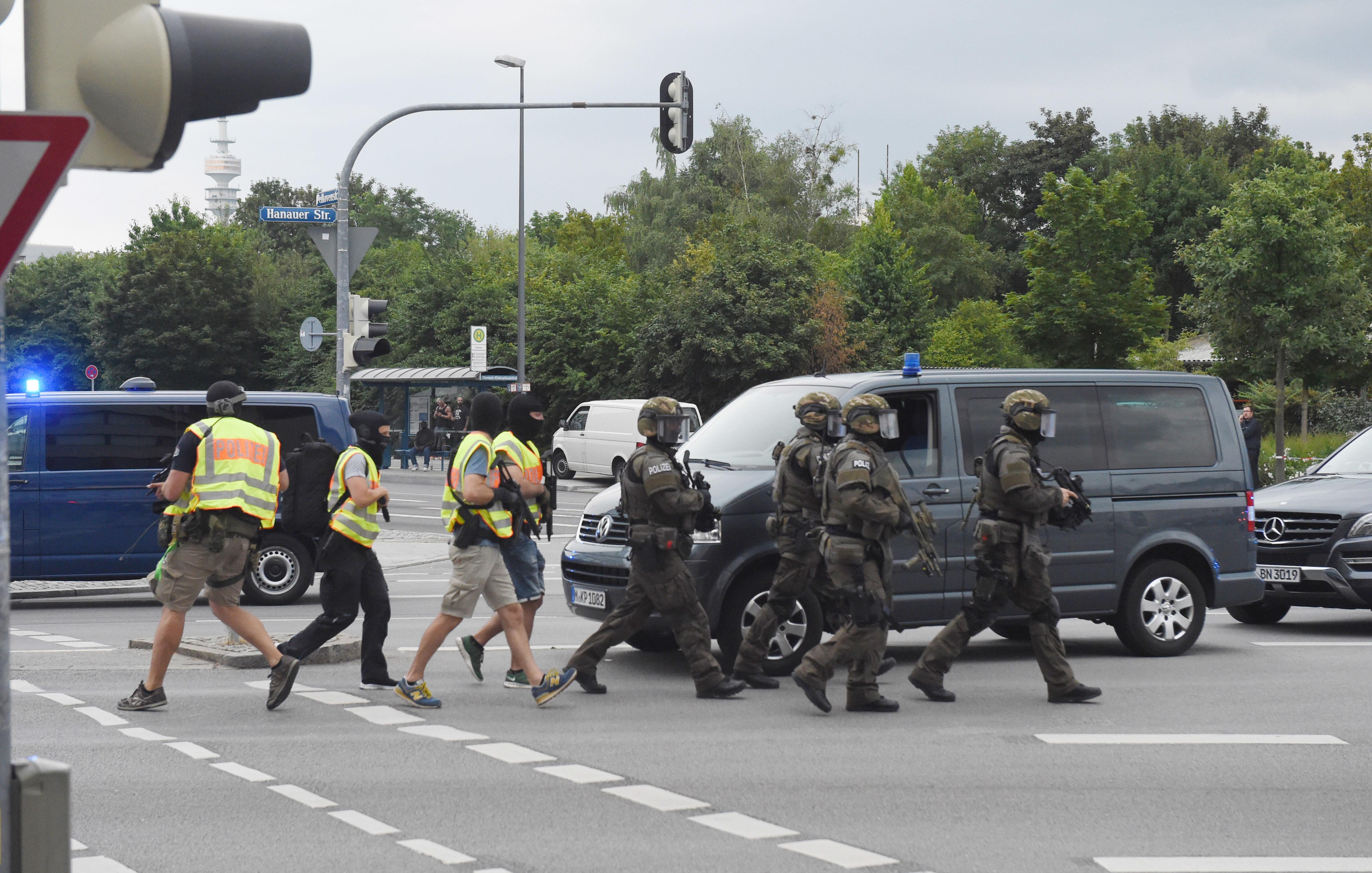 Bild zu Polizei, München