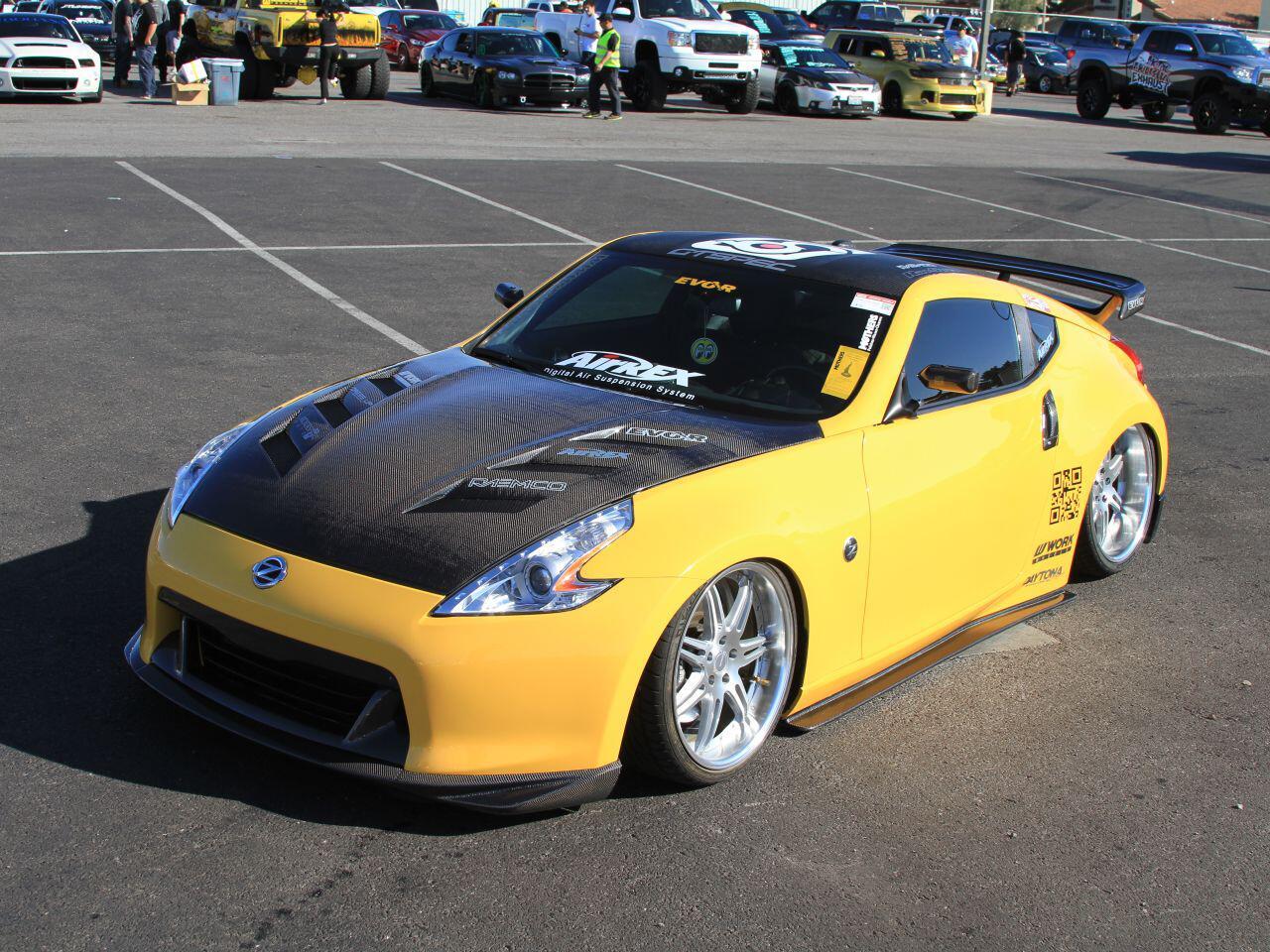 Bild zu Japan-Sportler in Los Angeles: Der Nissan 370Z von Pin Hsiu Rubber