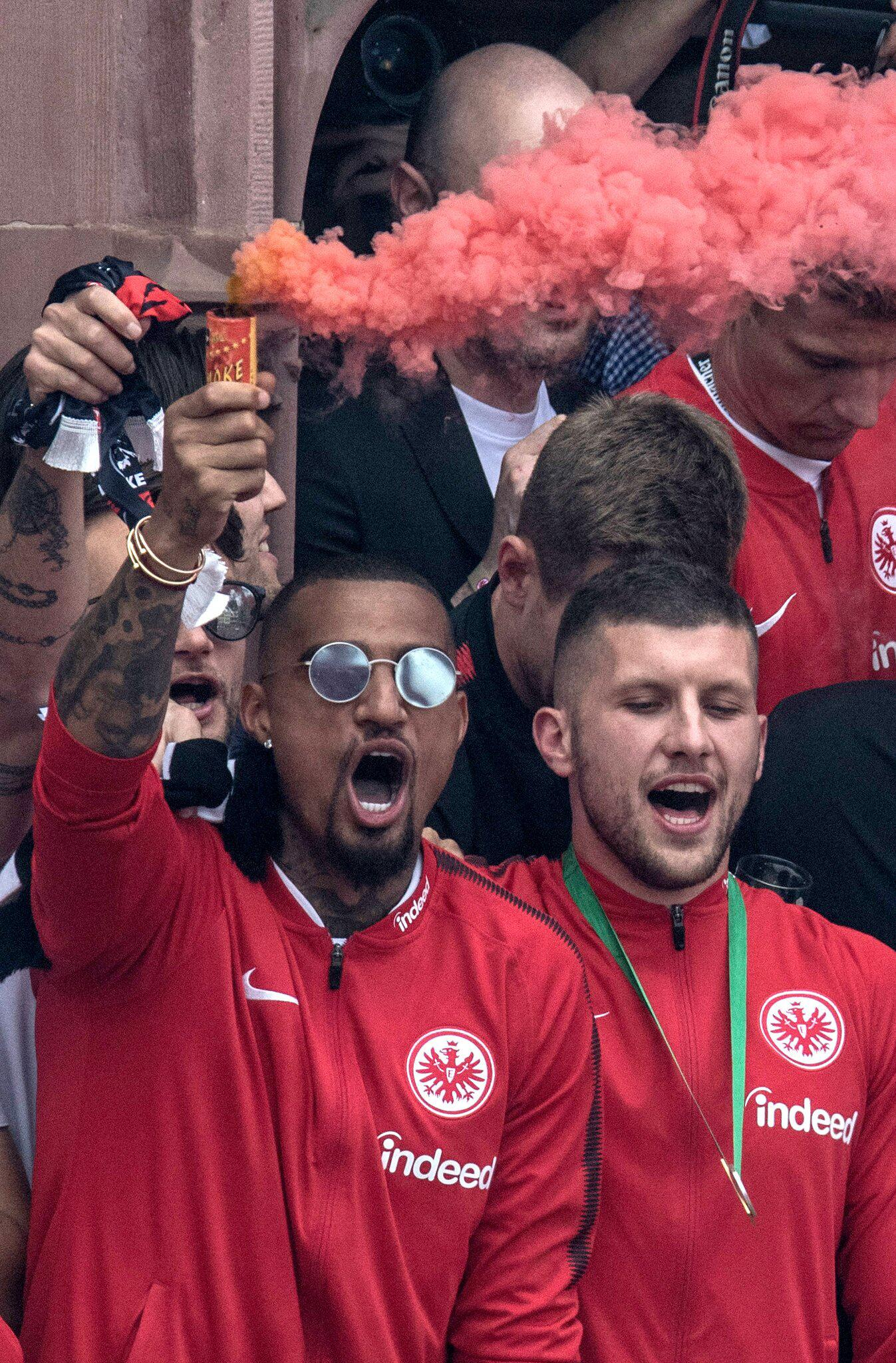 Bild zu DFB-Pokal Feier - Eintracht Frankfurt