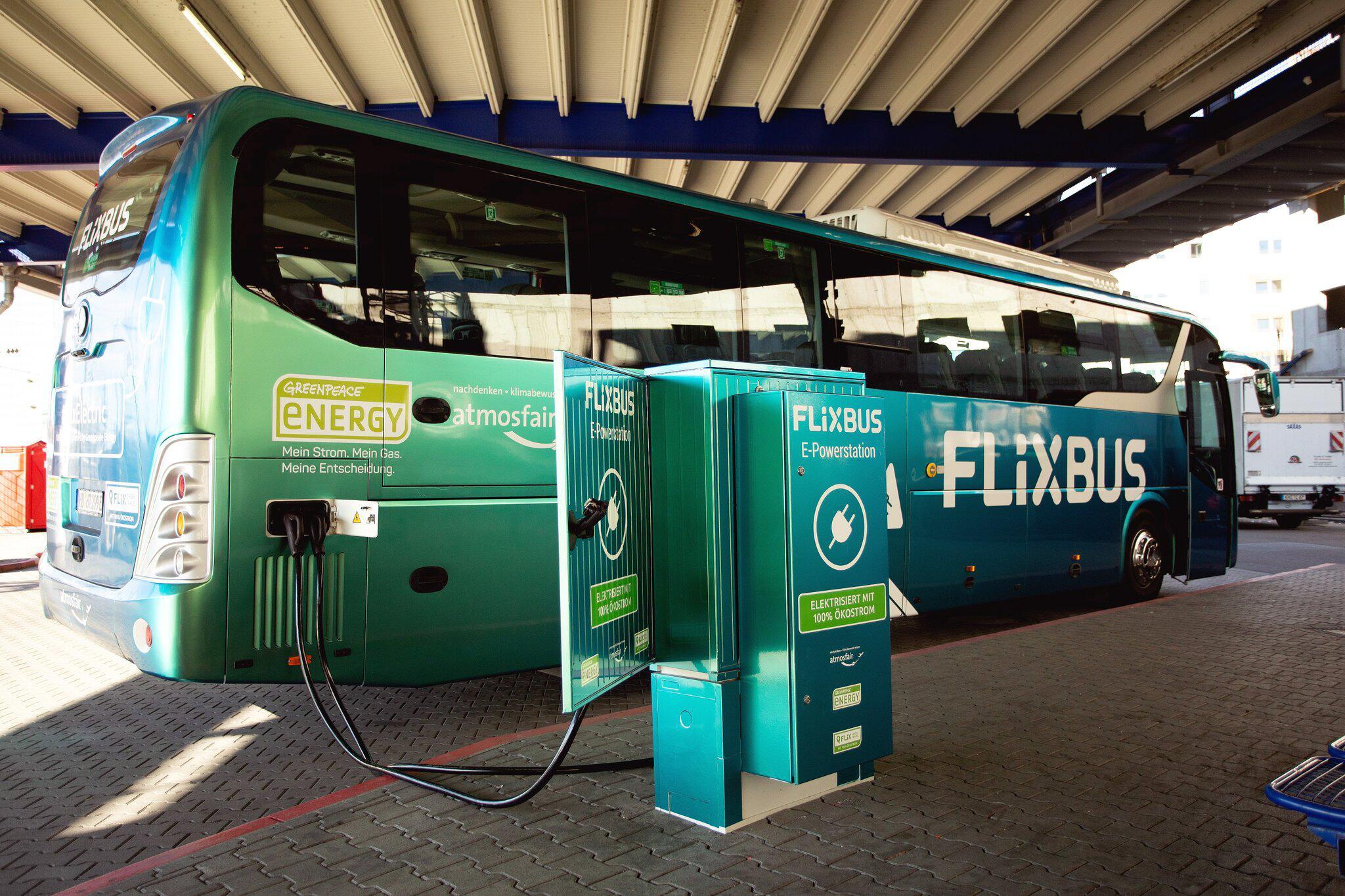 Bild zu Flixbus stellt Elektro-Fernbus vor