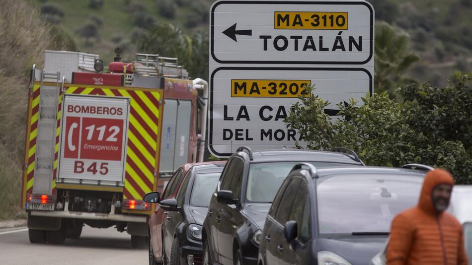 Brunnen-Drama in Spanien