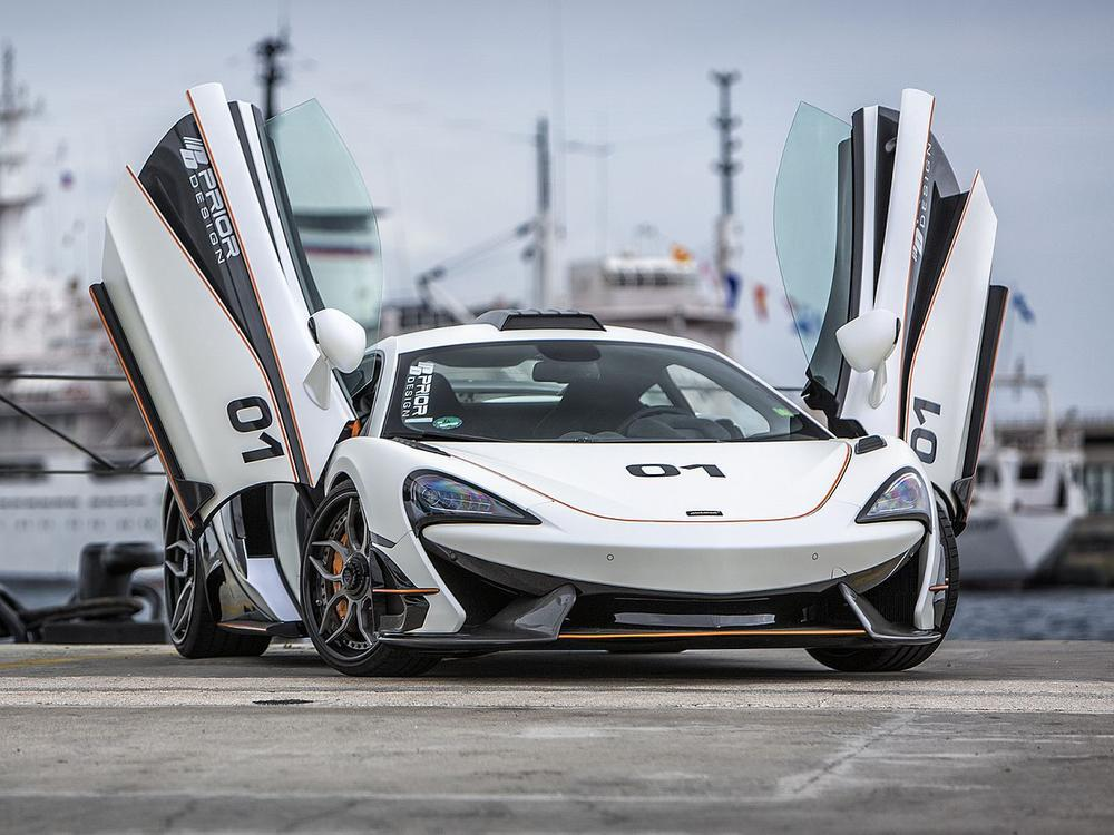 Bild zu McLaren 570S Full Carbon PD1 Aero-Kit