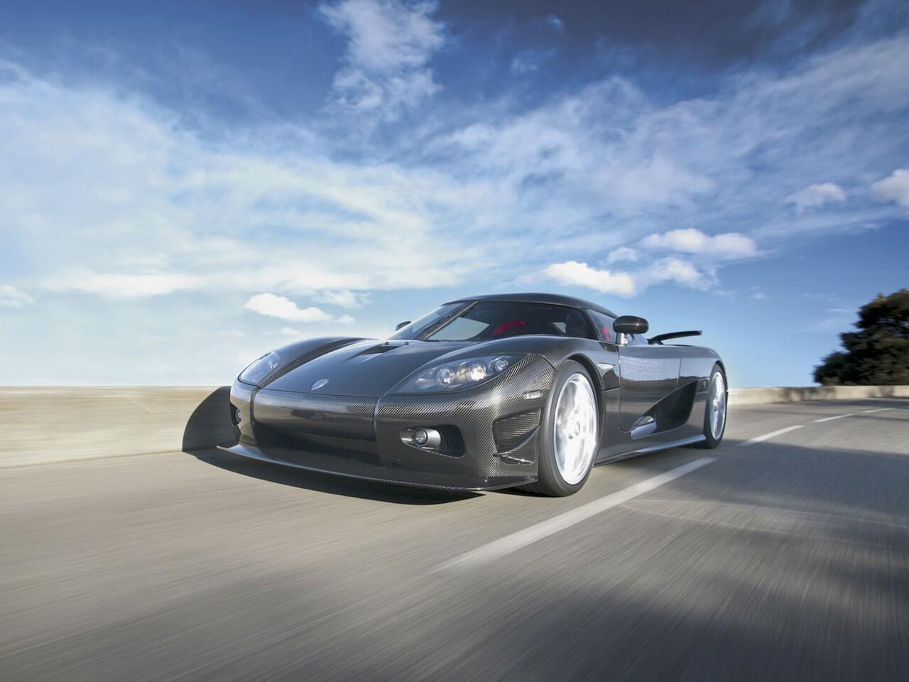 Bild zu Platz 5: Die Koenigsegg CCXR Edition läuft bis zu 402 km/h schnell