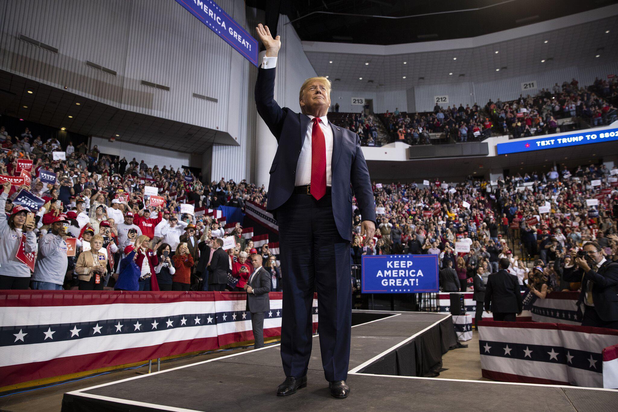 Bild zu Donald Trump im Wahlkampf