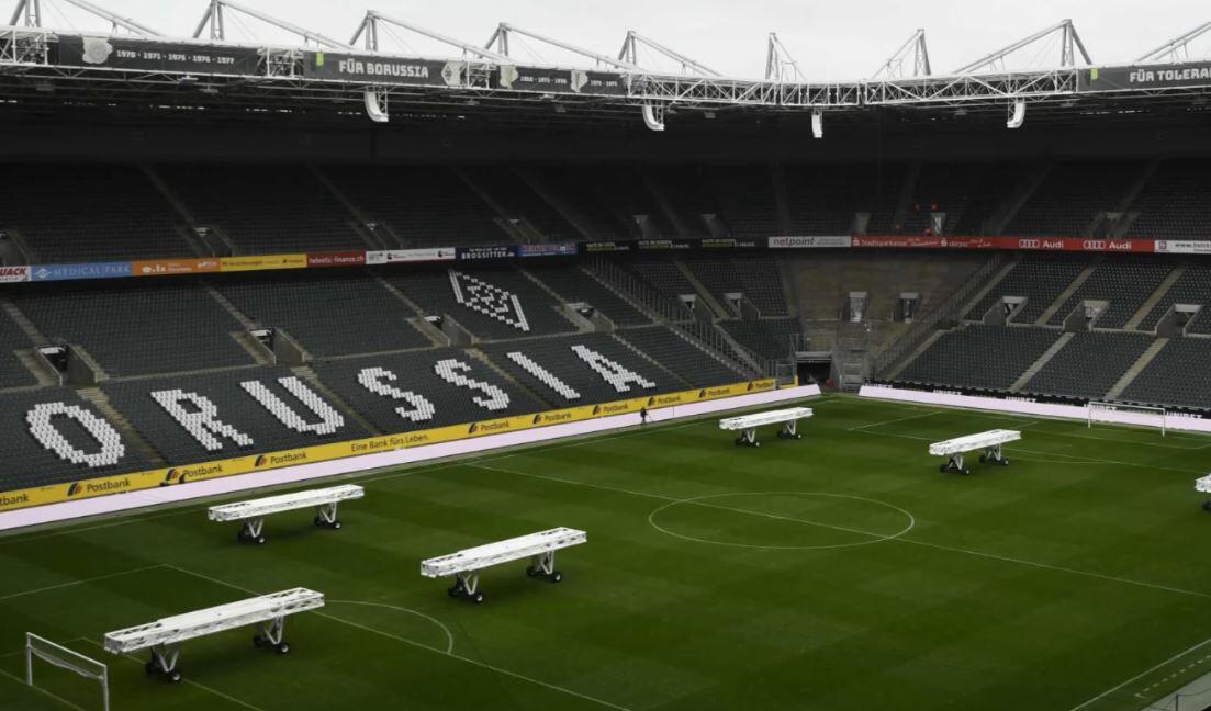 Bild zu Borussia-Park, Mönchengladbach, Stadion, leer