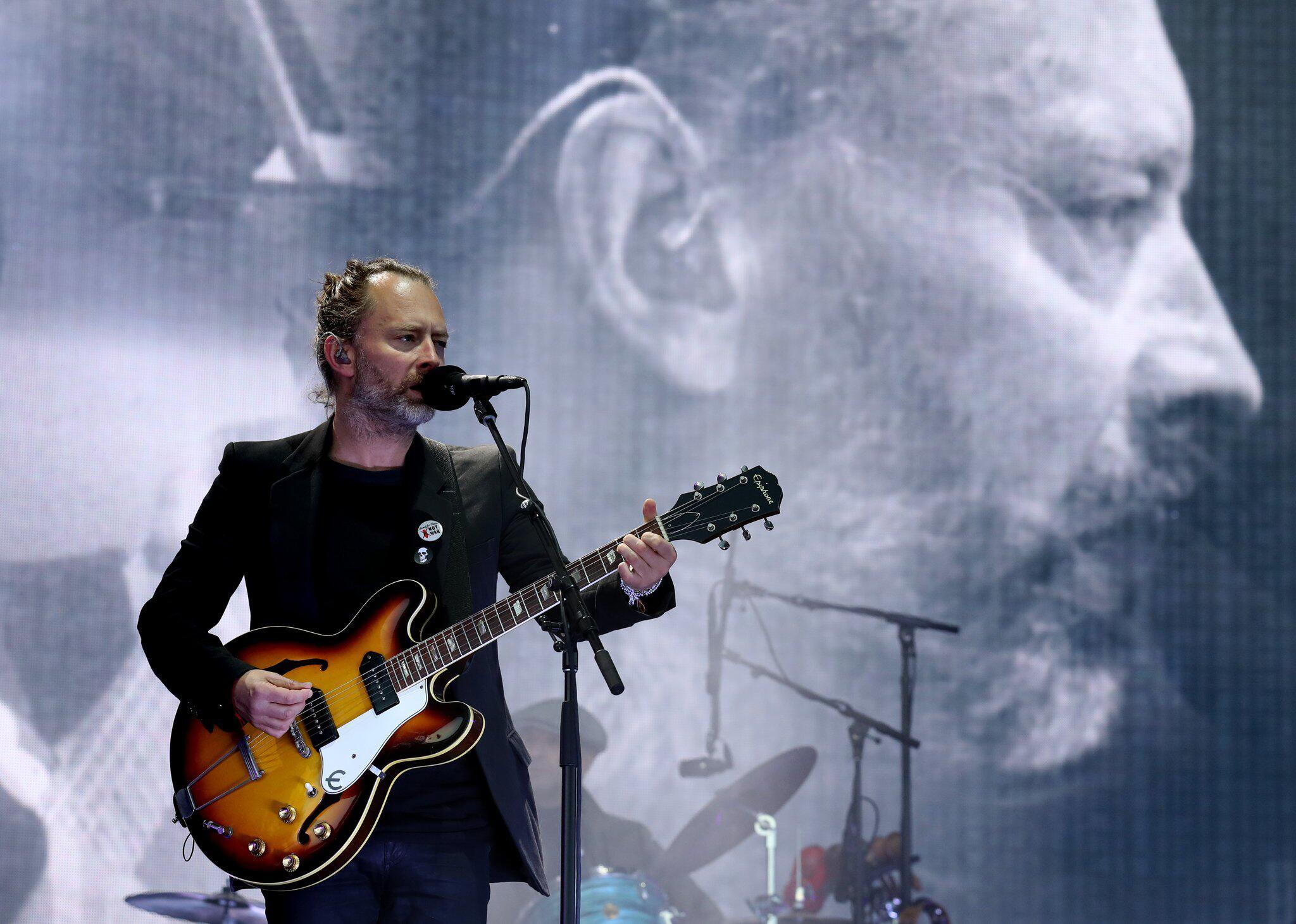 Bild zu Rockband Radiohead