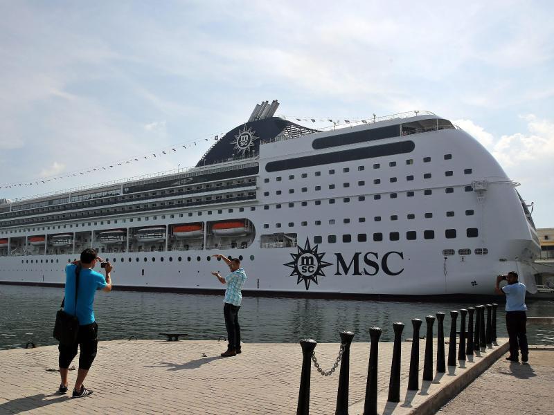 Bild zu MSC Kreuzfahrtschiff