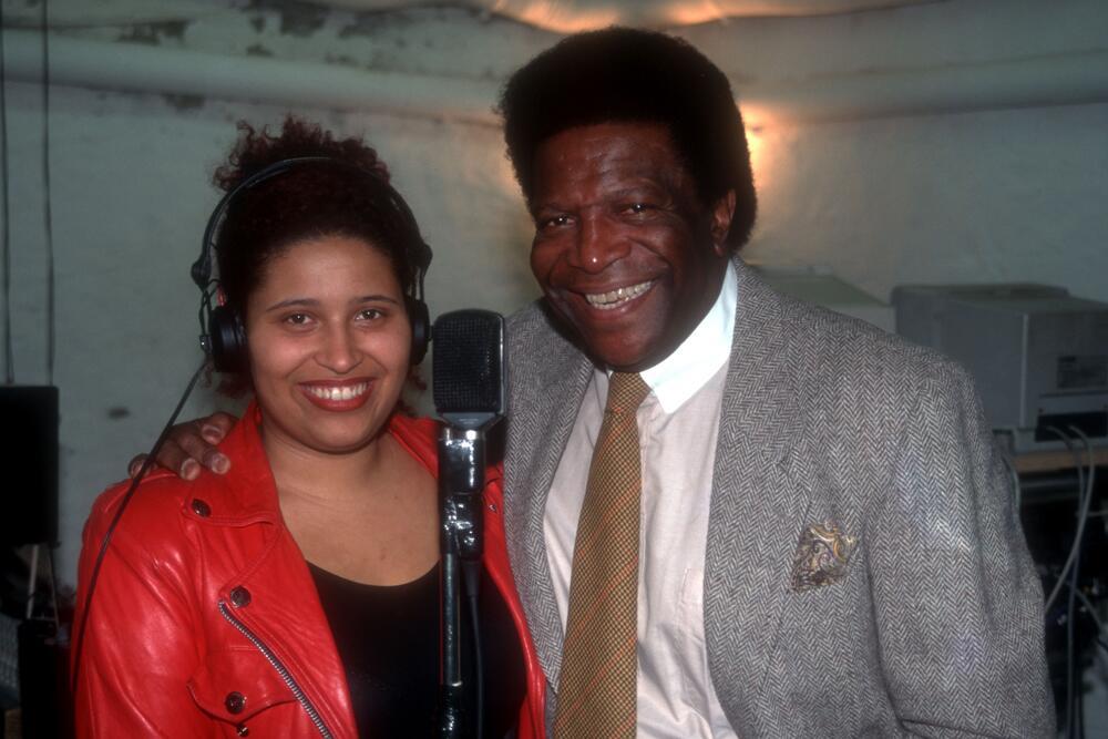 Bild zu Patricia Blanco 1995 mit ihrem Vater