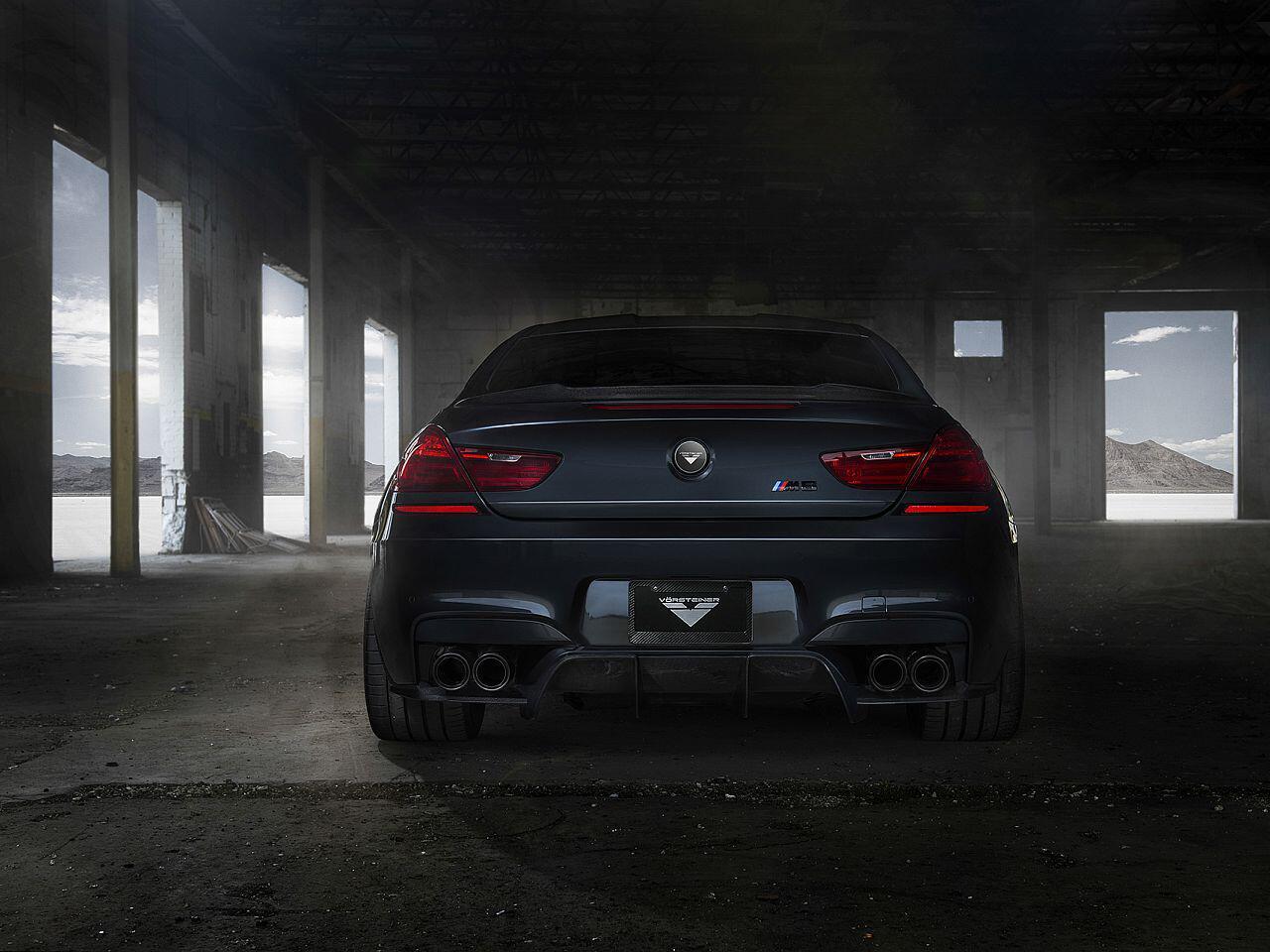 Bild zu Auch die Heckansicht des getunten BMW kann vollends überzeugen