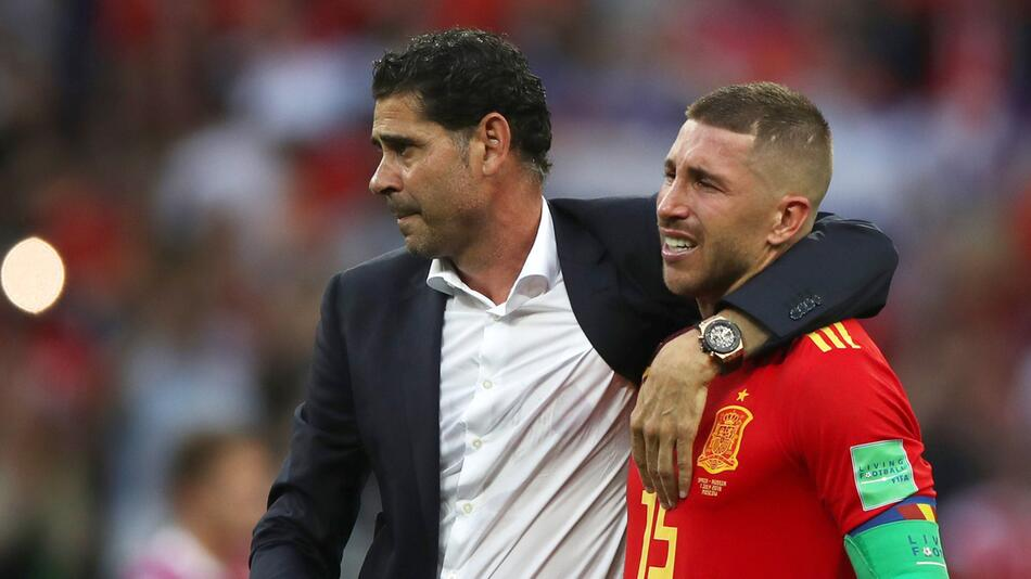 WM 2018 - Spanien - Russland