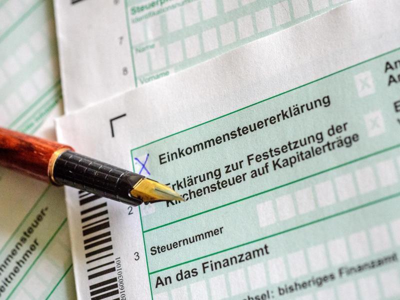 Bild zu Steuererklärung