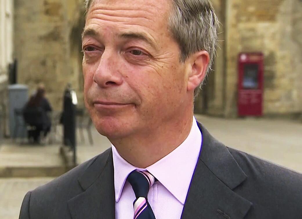Bild zu Nigel Farage