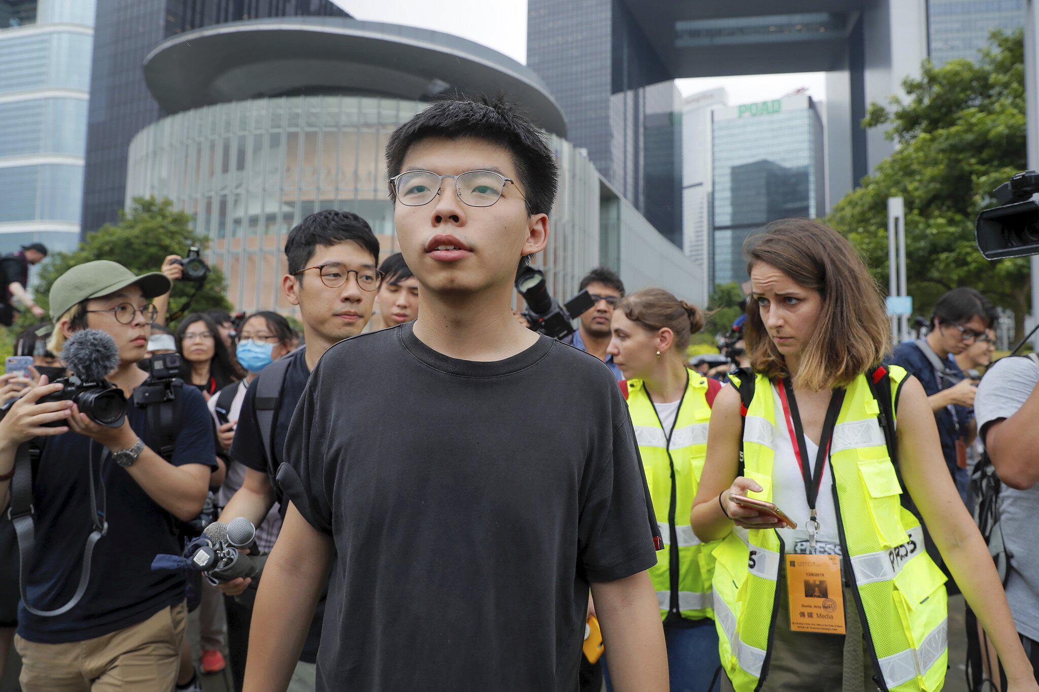 Bild zu Proteste in Hongkong - Joshua Wong