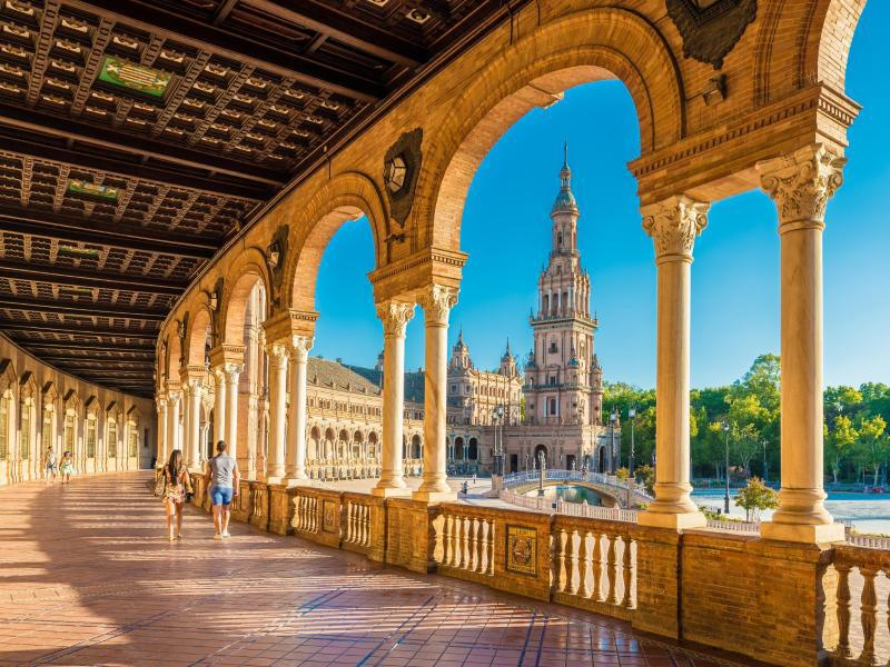 Bild zu Plaza de Espana