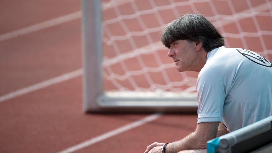 Fußball EM - Training deutsche Fußball-Nationalmannschaft