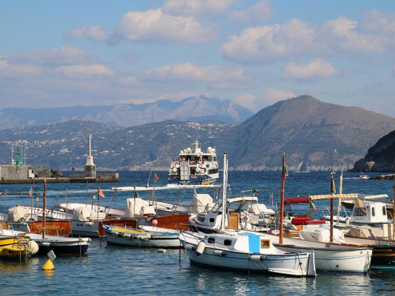 Bild zu Hafen von Capri