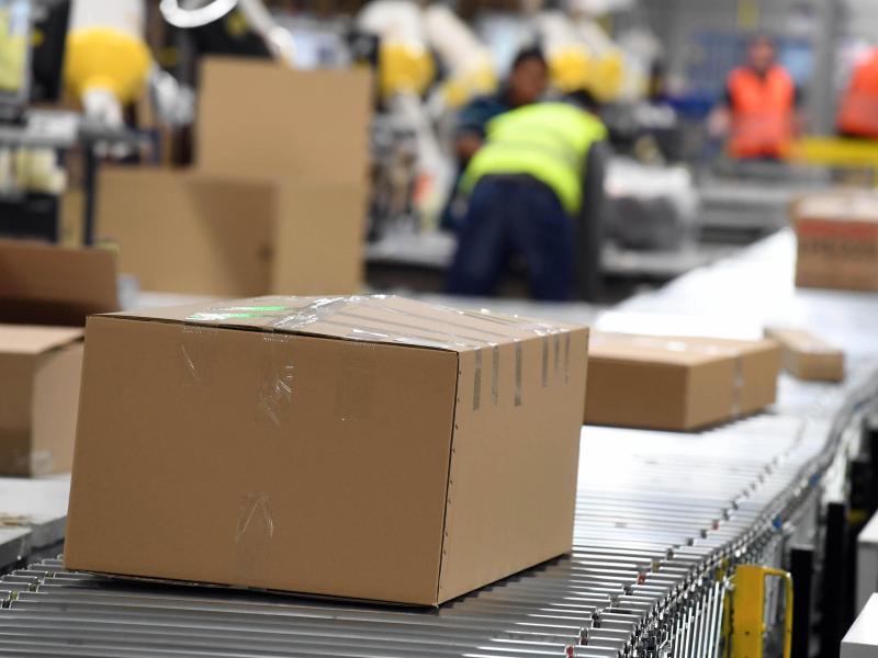 Bild zu Amazon Logistikzentrum