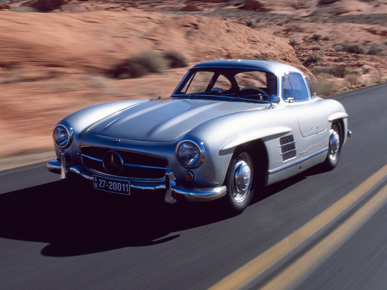Bild zu Mercedes 300 SL von 1954