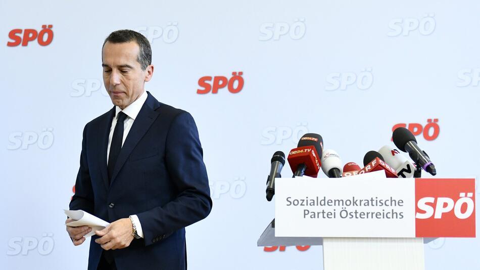 Österreichs Ex-Kanzler Christian Kern will wieder zurück