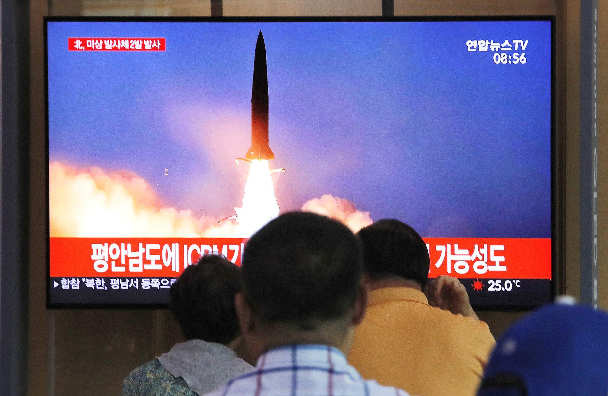 Bild zu Nordkorea feuert einem Bericht zufolge erneut «Projektile» ab
