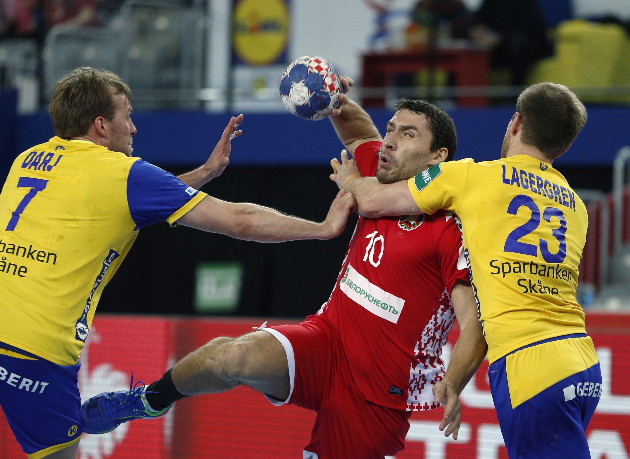 Bild zu Handball-EM: Schweden - Weißrussland