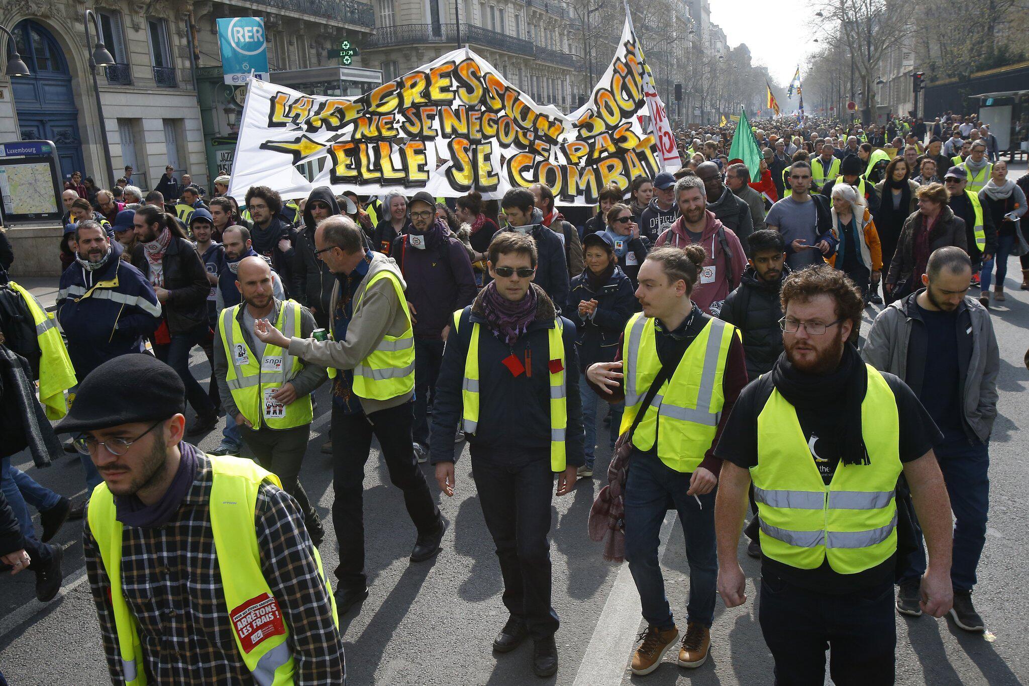 """Bild zu """"Gelbwesten""""-Proteste in Frankreich"""