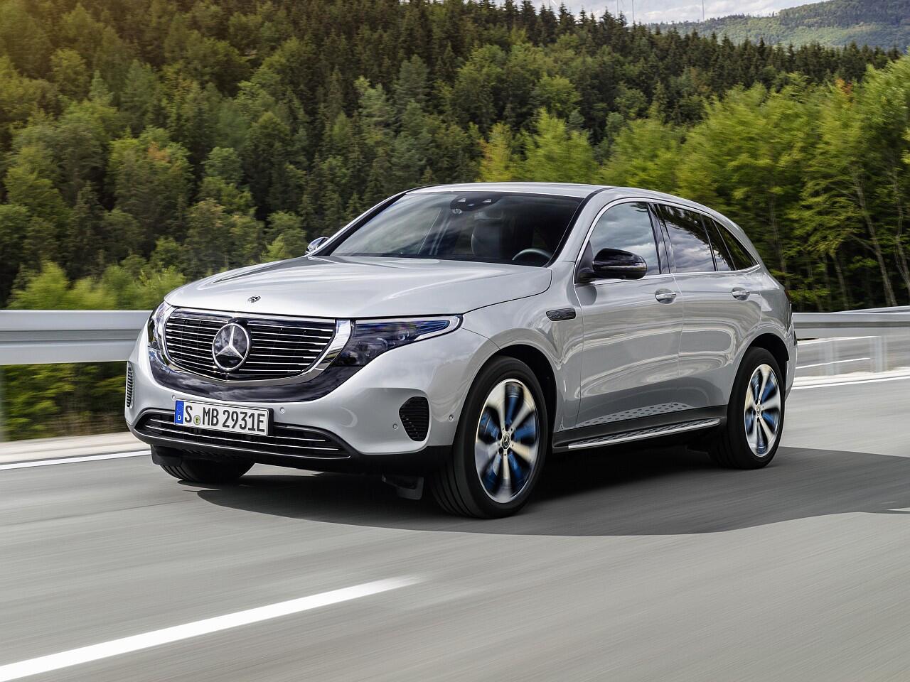 Bild zu Der neue Mercedes-Benz EQC: Das Elektro-SUV startet ab Mitte 2019