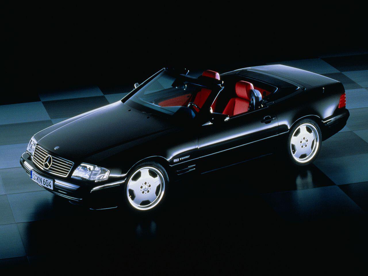 Bild zu 25-jähriges-Jubiläum: Der Edel-Sportwagen Mercedes 300 SL R 129