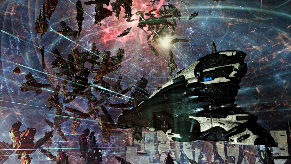 Bild zu Eve Online, Corona, Covid-19, Online. MMO, Weltraum, Project Disvovery