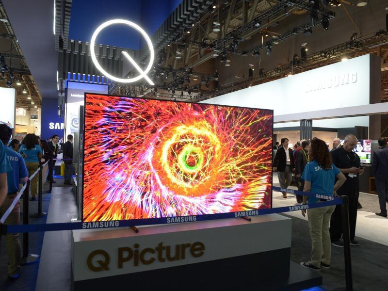 Bild zu QLED-Fernseher von Samsung
