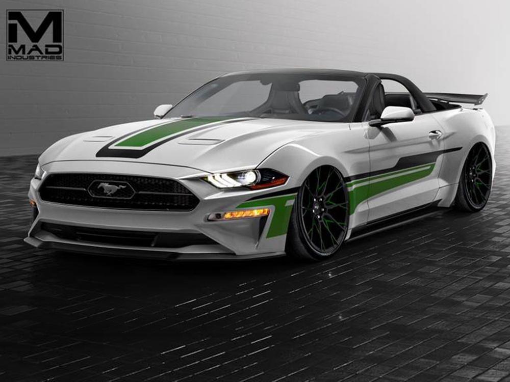 Bild zu Ford auf der SEMA 2017: Diese getunten Mustangs stehen auf der Tuningmesse