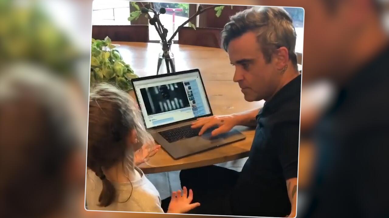 Bild zu Kein Robbie Williams Fan? Tochter hört lieber Beyoncé