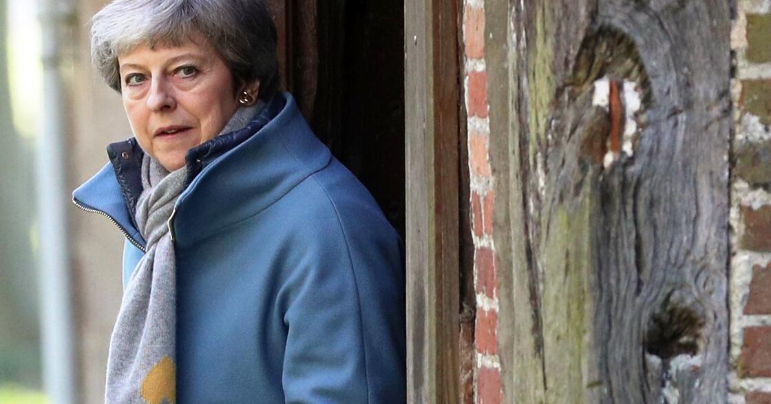 Bild zu Theresa May besucht Gottesdienst