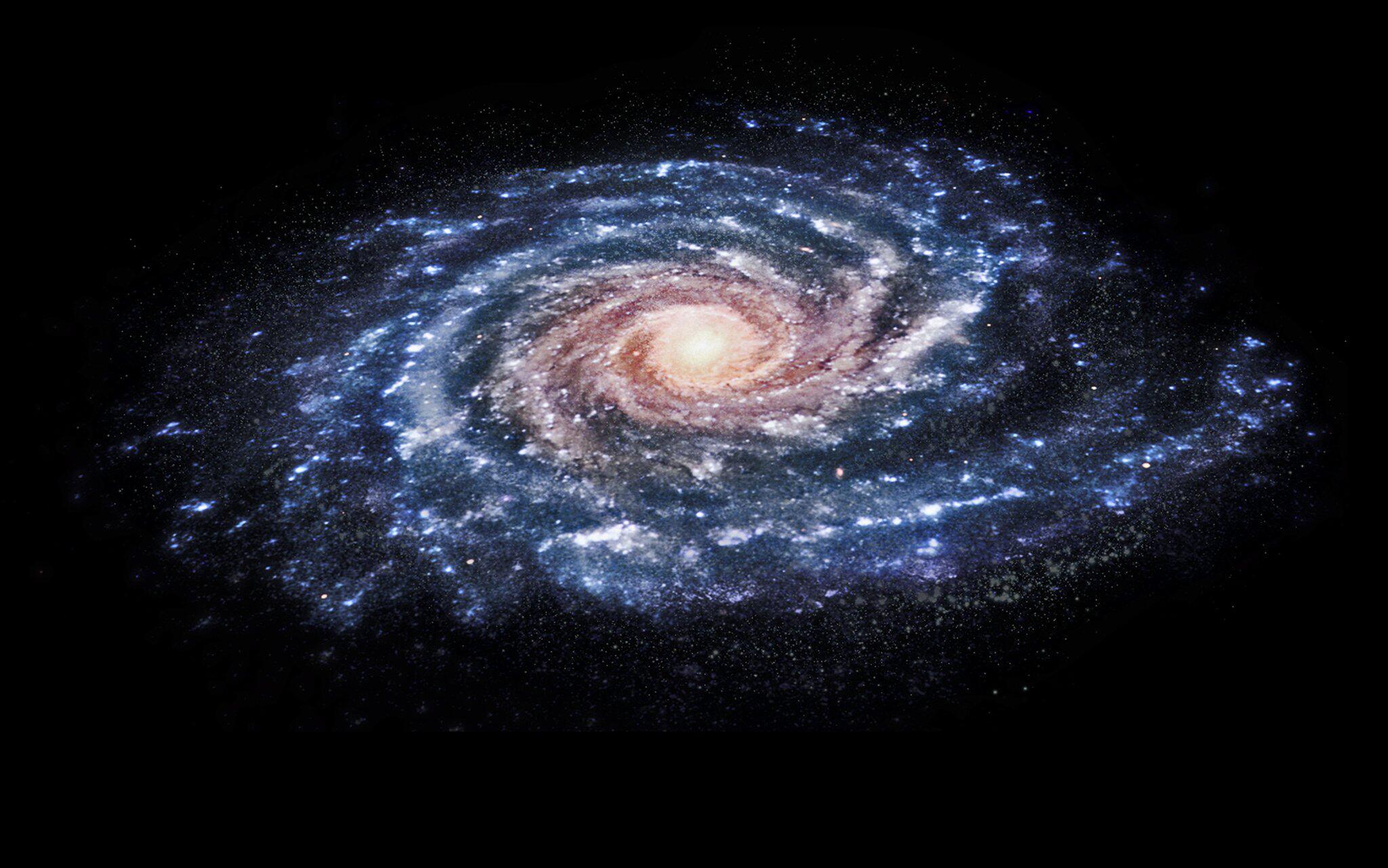 Bild zu Illustration: Unsere Milchstraße