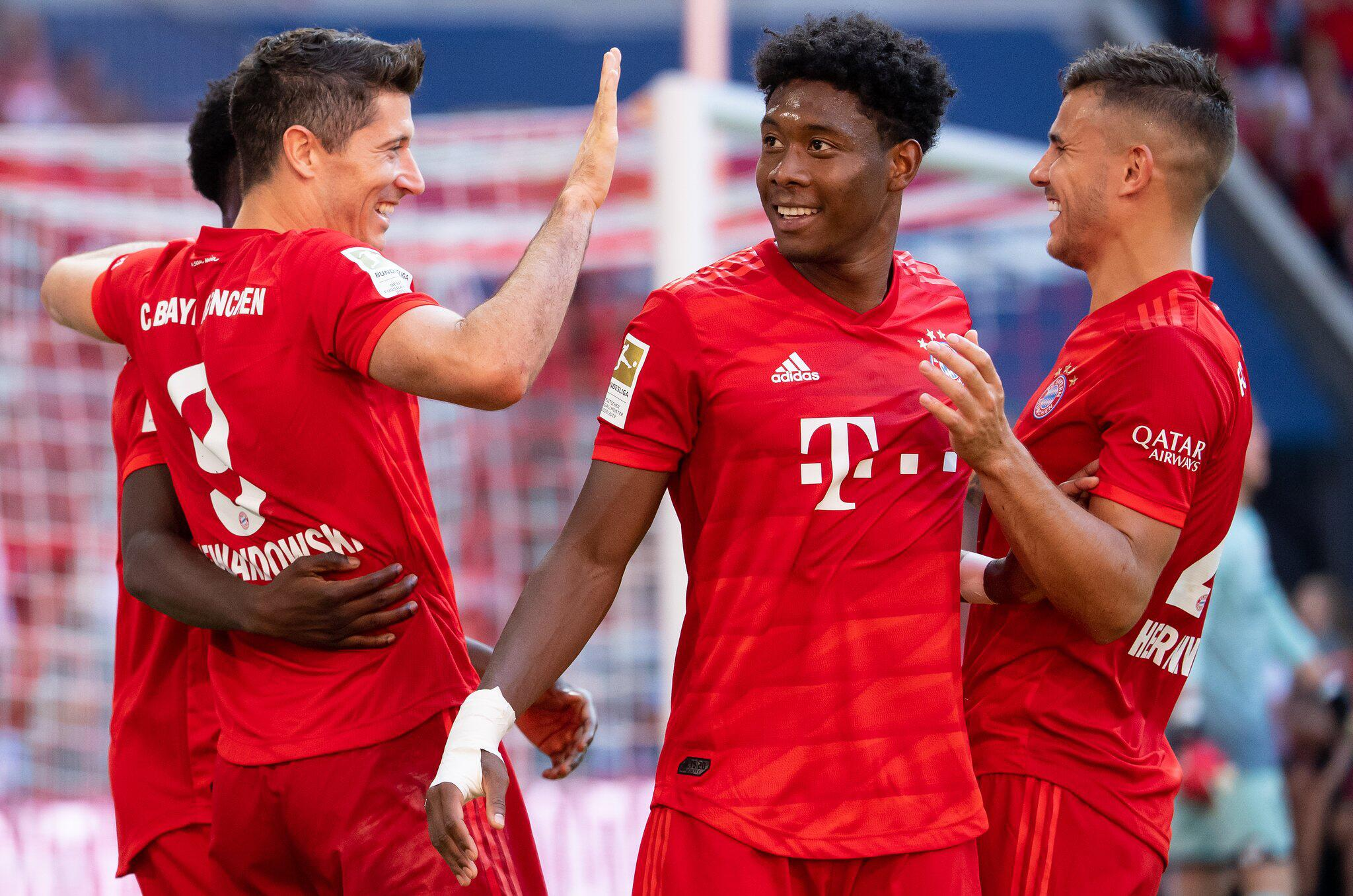 Bild zu Bayern München - FSV Mainz 05