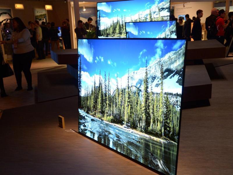 Bild zu Sony-TV Bravia A1E