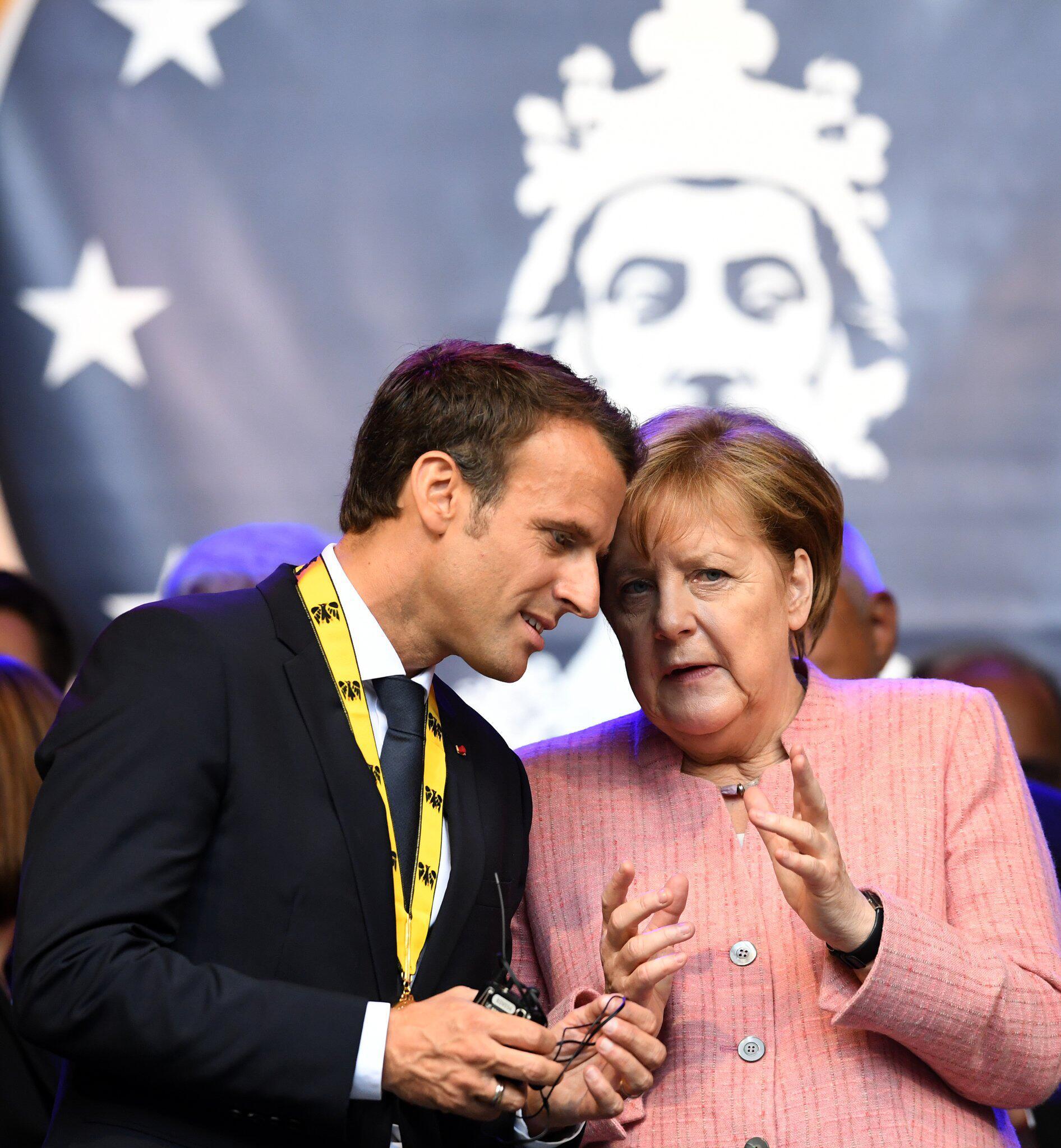 Bild zu Karlspreis für Macron