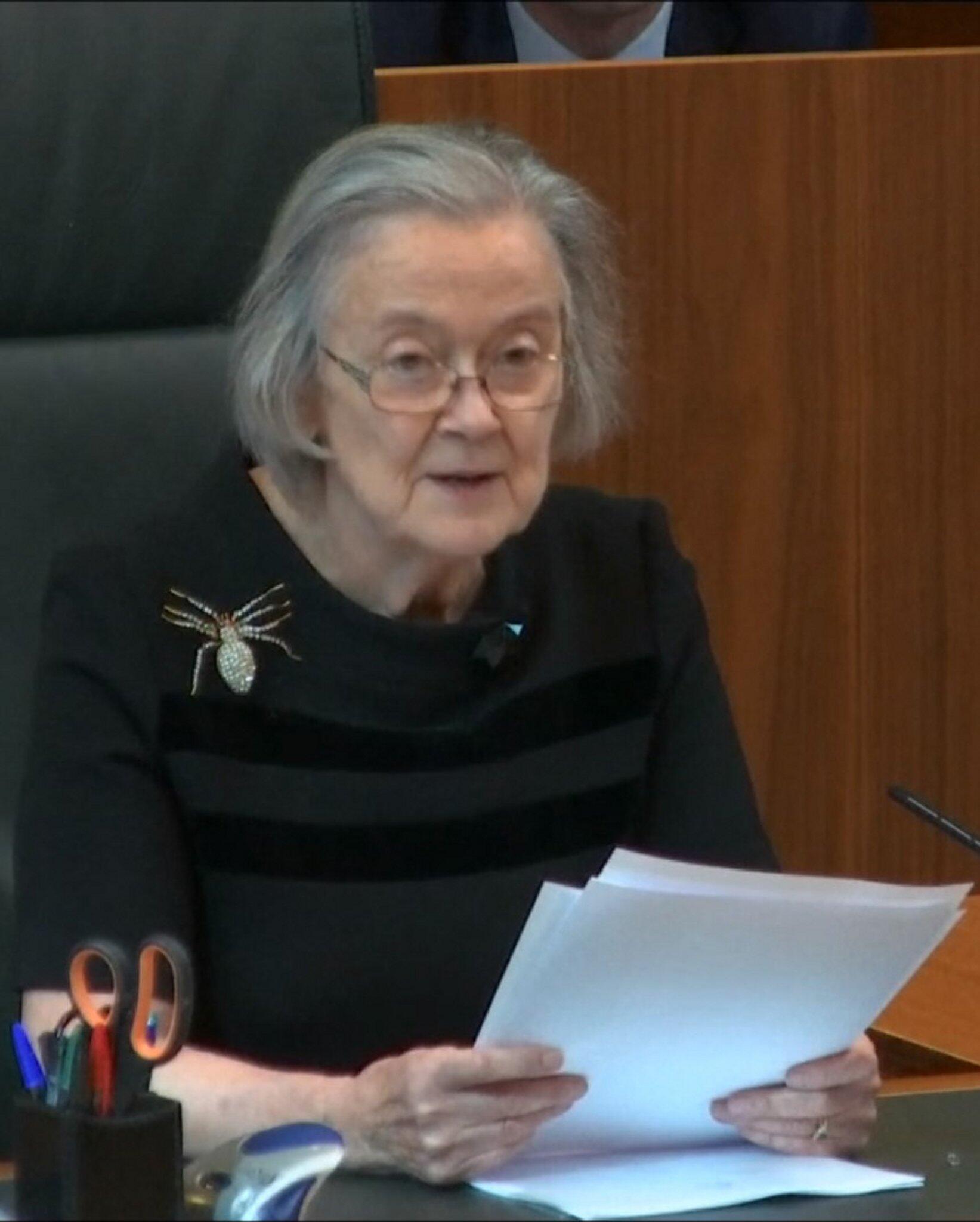 Bild zu Britische Supreme-Court-Richterin Lady Hale
