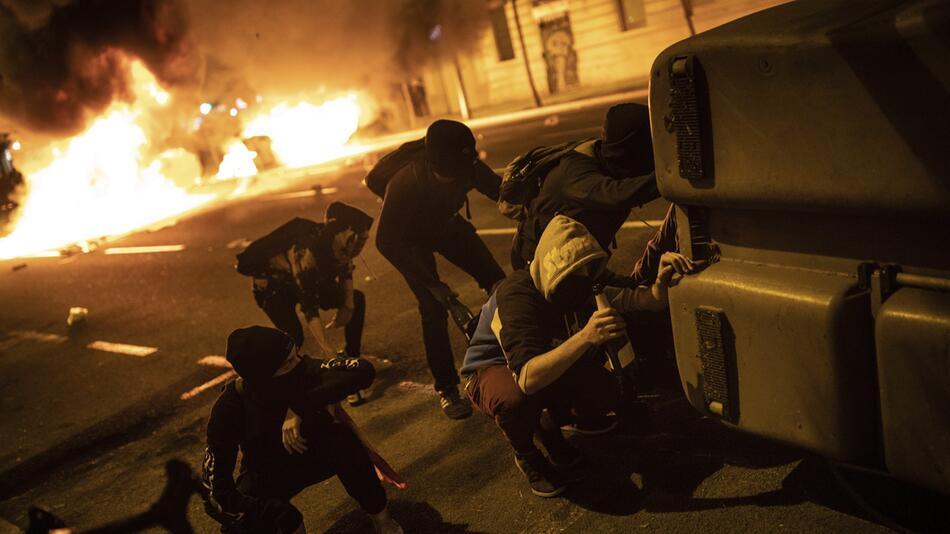 Katalanische Separatistenführer verurteilt