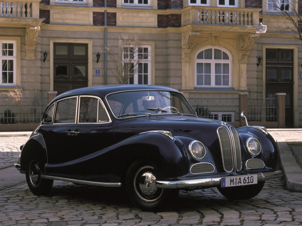 Bild zu BMW 502 V8 von 1954