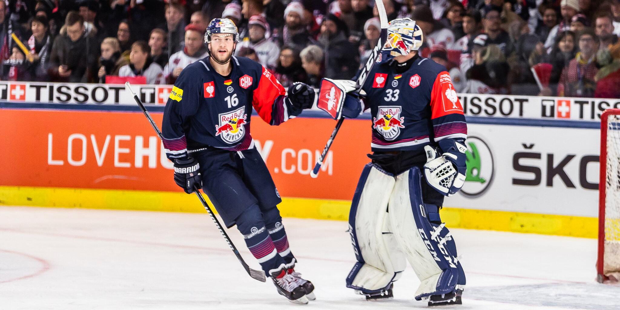Bild zu EC Salzburg - EHC Red Bull München
