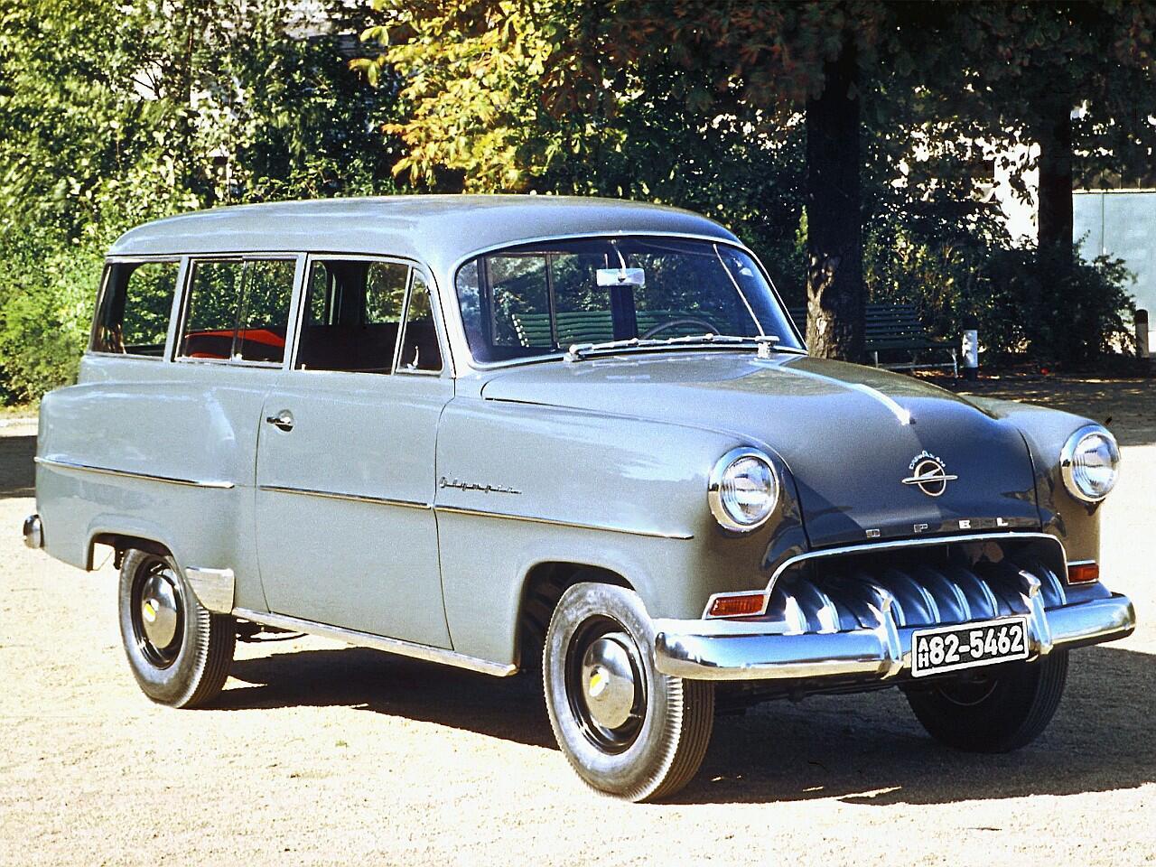 Bild zu Opel Olympia Rekord 1953 bis 1954