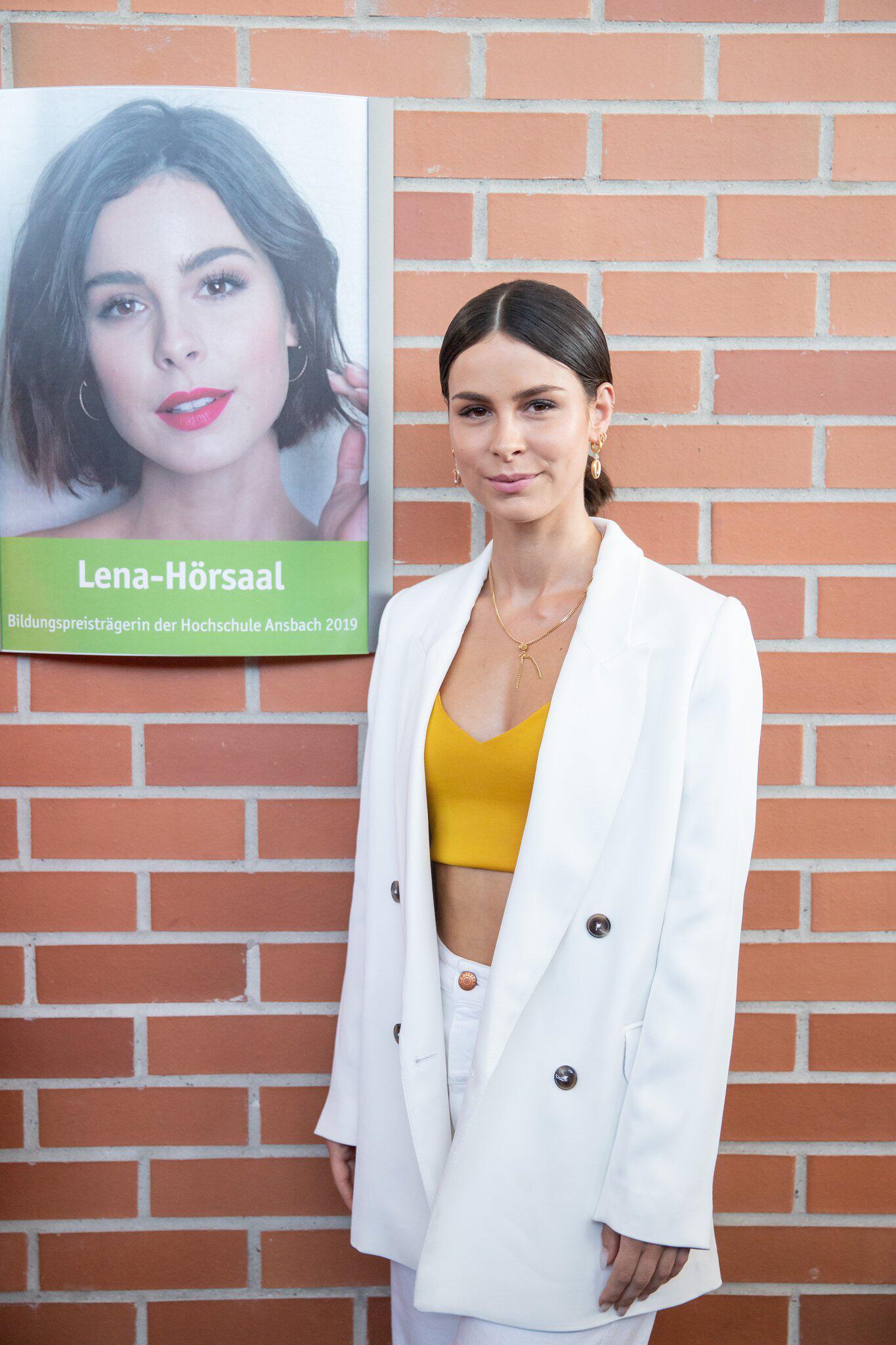 Bild zu Bildungspreis der Hochschule Ansbach, Lena Meyer-Landrut